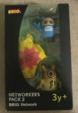 BRIO Wooden Train Network Networkers Pack 2 New