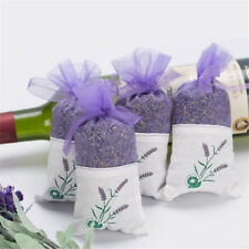 Dried Lavender Bags Aromatic Fragrant Favours Calming Sleep Aid Moth Repell 10bags