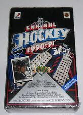 1990-91 UPPER DECK LNH-NHL HOCKEY CARDS BOX SET  SERIES FRENCH EDITION -MIB