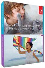 Adobe Photoshop Elements & Premiere Elements 2020 Mac/Win Sealed Retail Box