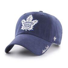 Toronto Maple Leafs 47 Brand Sparkle Team Color  Adjustable Cap Hat Ladies Women