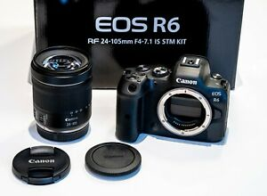 Canon EOS R6 Kit inkl. RF 24-105 mm F4.0-7.1 IS STM