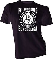 FC AUGSBURG GERMANY Bundesliga Football Soccer men T-SHIRT NEW handmade unisex