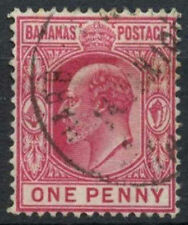 Used Postage Bahamian Stamps (Pre-1973)