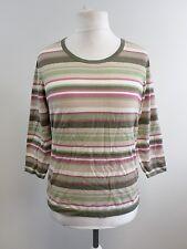 Eastex Striped Knit Jumper Top Ladies UK Size 12 Multi Box1211 g