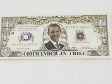 One Million Dollar Obama Bill Note-Funny Money Novelty