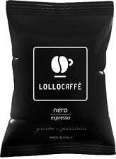100 Capsule Lollo Caffè Nero Compatibili Espresso Point