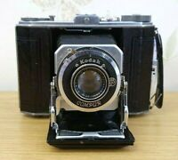 VINTAGE KODAK DUO 620 CAMERA with ANASTIGMAT F/4.5 Lens + Original Leather Case