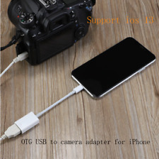 ✅8pin Lightning OTG Kabel Adapter iPhone iPad auf USB Buchse Kamera Canon Nikon✅