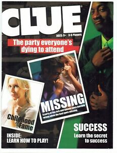 Clue Replacement Instructions Manual
