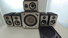 Episode ES-500-SAT-4 5 Speakers with Subwoofer for Seamless 5.1 Surround Sound