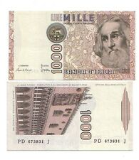 Italia 1000 lire 1985 Marco Polo serie D FDS UNC  pick 109c  rif 2407