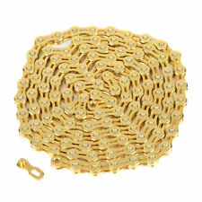 Lightweight Steel Bicycle Chain 116 Links Gold Mountain Road Bike 11-speed St