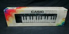 NRFB VTG CASIO PT-10 KEYBOARD MINI BLACK MUSICAL INSTRUMENT
