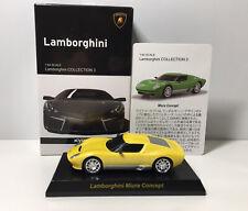 1/64 Kyosho LAMBORGHINI MIURA CONCEPT Diecast Car Model Yellow