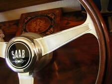 """Saab 95 96 Monte Carlo Nardi Wood Steering Wheel 15"""" NOS New"""