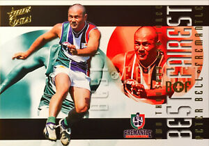 2004 SELECT AFL OVATION HERITAGE GUERNSEY, FREMANTLE PETER BELL BF5