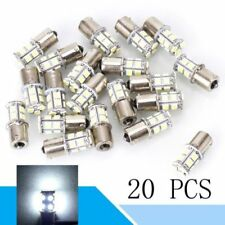 20X 5050 Cool WHITE 13 SMD LED BULB 1156 1003 1141 RV TRAILER INTERIOR LIGHT 12V