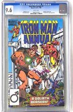 IRON MAN Annual #7 Marvel Comics 1984 CGC 9.6 Hawkeye Wonder Man Goliath Appear
