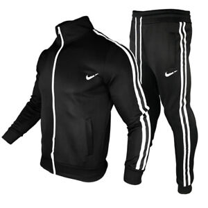 JXGP Mens Summer Jackets Two Pieces Jogger Workout Shorts Tracksuit Outfit Set