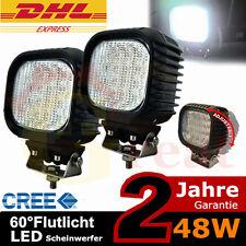 2x 48watt LKW mit LED Rückfahrscheinwerfer Mähdrescher mit LED Scheinwerfer CREE