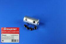 Alu-Kupplung 4,0 / 4,0mm Best.-Nr.:SZ1018.10 v. Graupner / Günther Modellsport