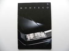 Catalogue / brochure AUSTIN ROVER MONTEGO de 07 / 1989 en français