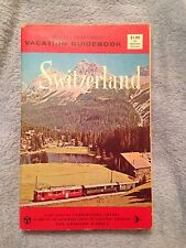 Switzerland / Vacation Guidebook - 1963 - Softback Book
