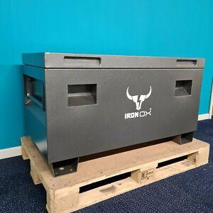 "Van Vault Site Box Tool Box   Steel lockable Box with FREE Padlocks Iron Ox® 45"""