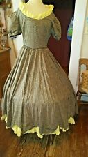 Civil War, Old West, Reenactor, Victorian Womens Dress