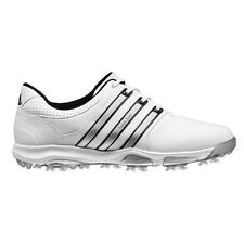Adidas Tour 360 X Golf Shoe (White/Silver) Size 8 US Wide