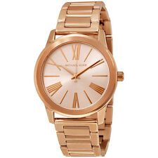 Michael Kors Hartman Rose Gold-Tone Stainless Steel Ladies Watch MK3491