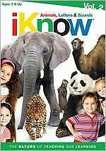 IKNOW: ANIMALS & LETTERS & SOUNDS 2 (Elephant) - DVD - Sealed Region 1