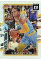 2017 Panini Optic Holo #66 Jordan Clarkson Los Angeles Lakers
