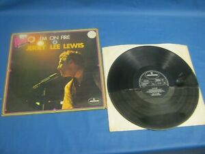 RECORD ALBUM JERRY LEE LEWIS I'M ON FIRE 8401