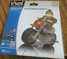 Mariokart~K'Nex~Donk ey Kong Bike Building Set~Brand New in Package~Ages 6+
