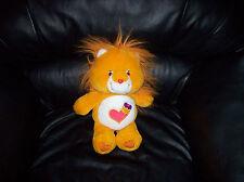 Care Bear Cousin Carebear Lion Stuffed Brave Heart 4-8 Boys & Girls 1986 Hasbro