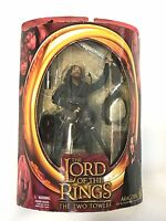 Lord of the Rings The Two Towers Aragorn with real arrow launching action NEW