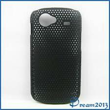 CUSTODIA COVER Per SAMSUNG GOOGLE NEXUS S GT i9023 MESH RIGIDO NERO BLACK