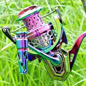 Spinning Fishing Reel Roller Wheel Bait Coil Spool 18 BB 4.6:1 Metal Spool Carp