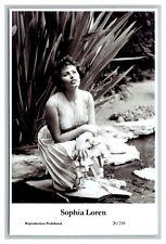 Sophia Loren (C) Swiftsure Postcard year 2000 modern print 20/218 glamour photo