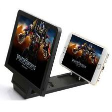 Enlarged Screen 3D Glass Magnifier Folding Portable Bracket For Mobil Phone B UP