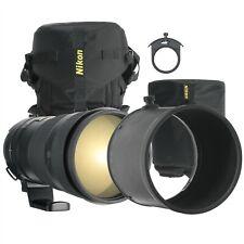 NIKON NIKKOR AF-S 300mm F2.8 G VR ED IF TELEPHOTO LENS W/ CASE&ACC