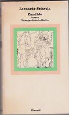 Sciascia, Candido, Einaudi, 1977, Nuovi coralli, classici, letteratura italiana