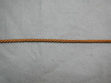 Cord  6mm  Twist Rayon  Old Gold x 17 metres
