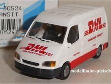 Rietze 30524 Ford Transit DHL Worldwide Express (GB)  , 1:87  , neu, OVP