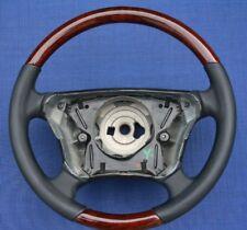 Lenkrad Mercedes W210 C208 A208 AB 1999 WURZELHOLZ