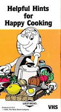 West Bend HELPFUL HINTS FOR HAPPY COOKING VHS Video Tape 1990 Cleaning
