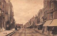 POSTCARD   HERTS             BISHOPS  STORTFORD   North  Street   Circa  1921