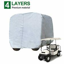 """Kayme 4 Passenger Golf Cart Cover, 4 Layer Heavy Duty Outdoor Cover (Up to 112"""")"""